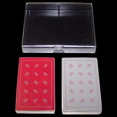 """Double Deck Metropolitan Opera Guild """"Opera"""" Playing Cards, Maker Unknown, Patricia Zipprodt Designs, c.1980"""