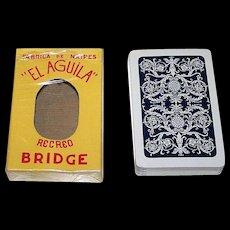 """La Cubana S.A. """"El Aquila"""" Playing Cards, c.1960s"""
