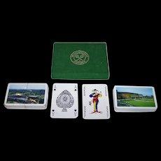 """Double Deck Waddington """"Wimbledon"""" Playing Cards, 1974-1995"""