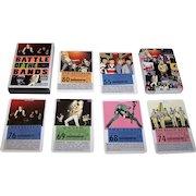 "Laurence King Publishing, Ltd. ""Battle of the Bands: Rock Trump Cards"" Card Game, Mikkel Sommer Illustrations, Stephen Ellcock Text"