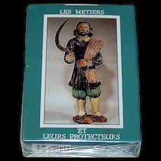 """Edition Dusserre """"Les Metiers et leurs Protecteurs"""" Playing Cards"""