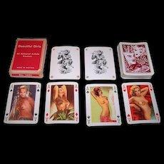"Piatnik ""Beautiful Girls"" Erotic Pin-Up Playing Cards, c.1955"