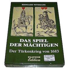 """Piatnik """"Das Spiel der Mächtigen – Der Türkenkrieg von 1683"""" Facsimile Playing Cards [Original Set, Historical Museum of Vienna, c.1685-1699], Ltd. Ed. (____/2000), c.1982"""