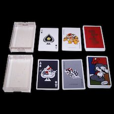 "2 Decks Nintendo ""Super Mario"" Playing Cards, $25/ea."