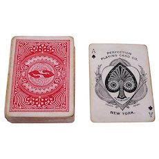 """Perfection Playing Card Co. """"Leader #325"""" Playing Cards (52/52, NJ), c.1890"""