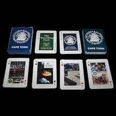 """Cape Town Victoria & Alfred Waterfront"" Advertising Playing Cards, Maker Unknown, c.1990s"