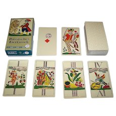 "Piatnik ""Russisches Tiertarock"" Facsimile Animal Tarock Cards, [Original by Johann Matheus Backofen, c.1805], c.1986"