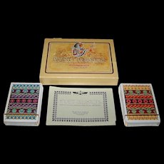 "Double Deck Fournier ""Ancient Civilisations"" Playing Cards, Celedonio Perellón Designs, c.1973"