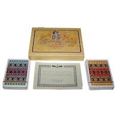 "Double Deck Fournier ""Ancient Civilisations"" Playing Cards, Celedonio Perellón Designs, c.1973"