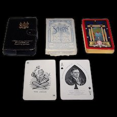 "Worshipful Company (De la Rue) Playing Cards, ""British Empire Exhibition"" c.1924"