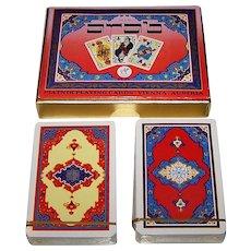 """Piatnik No. 2141 """"Arab"""" Playing Cards, c.1976"""