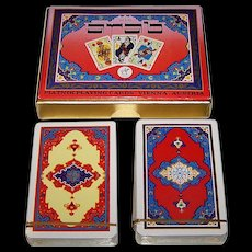 "Piatnik No. 2141 ""Arab"" Playing Cards, c.1976"