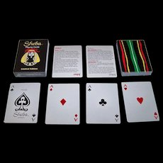 "Hoyle ""Sheba"" Playing Cards, Omega Concepts Ltd. Publisher, Brent Bailer Designs, c.1996"
