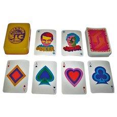 """Stemm """"Jeu Atlanta S.L.C."""" Playing Cards, """"Salut les Copains,"""", Yé-Yé Music, c.1968"""