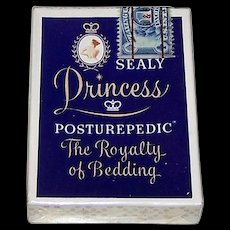 "Brown & Bigelow ""Sealy Princess Posturepedic"" Pin-Up/Glamour Playing Cards, c.1957"