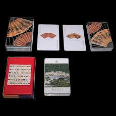 "2 Decks of China Museum Playing Cards, $15/ea.: (i) Fournier ""Shanghai Museum""; (ii) ""National Palace Museum,"" Maker Unknown"