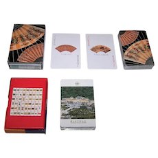 """2 Decks of China Museum Playing Cards, $15/ea.: (i) Fournier """"Shanghai Museum""""; (ii) """"National Palace Museum,"""" Maker Unknown"""