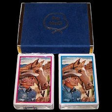 "Double Deck Brown & Bigelow (Stancraft) ""AuH2O"" Nu-Vue Playing Cards, Barry Goldwater Campaign, c.1964"