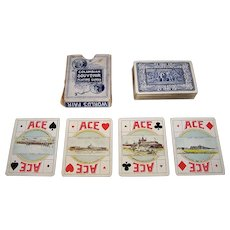 """G.W. Clark """"Columbian Exposition"""" Playing Cards (52/52, NJ), c.1893"""