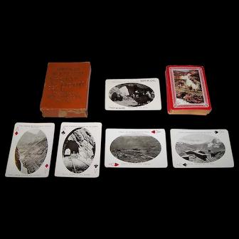 """USPC """"Vistas del Perú"""" Souvenir Playing Cards, c.1905"""