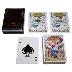 "Nintendo ""HKK Chain"" Playing Cards"