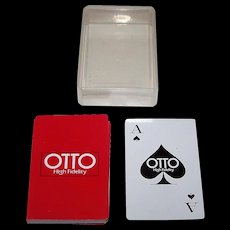 "Nintendo ""Otto Hi Fidelity"" Playing Cards (52/52, NJ)"