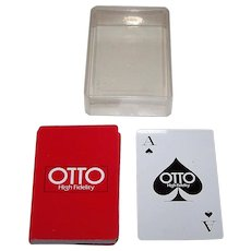 "Nintendo ""Otto Hi Fidelity"" Playing Cards (52/52, NJ)"