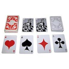 "AG Muller ""Basler Fasnachtskarten 1988"" Playing Cards, Hanns Studer Designs, c.1988"