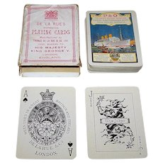 "De La Rue ""P & O"" Maritime Playing Cards, c.1931"