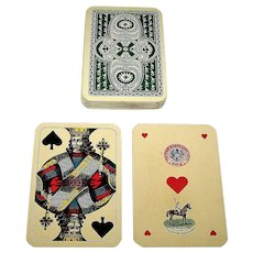 "Piatnik ""Kasino-Pikett"" Playing Cards, Skat Deck, Viennese Large Crown Pattern, c.1926-1934"