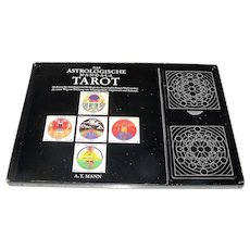 "Interbook ""Das Astrologische Mandala Tarot"" Tarot Cards w/ Book, A.T. Mann Conception, c.1988"