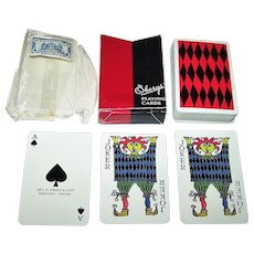 "Oberg ""Comedia"" Playing Cards, Stig Lindberg Designs, c. 1958"