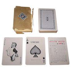 "Pyramid ""Umpire"" Playing Cards, c.1926"