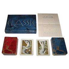 "Double Deck Fournier ""Classic"" Playing Cards, Paul Mathison Designs, c.1959"
