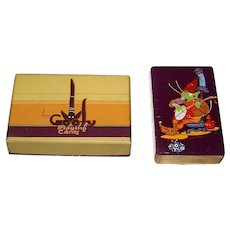 "Fan C Pack (E.E. Fairchild) ""Goofy"" Playing Cards, c.1930"