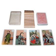 "F.X. Schmid ""Kipper Wahrsagen Aus Karten"" Fortune Telling Cards, c.1977"