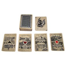 """Speelkaartenfabriek Nederland """"Crown"""" Playing Cards, c.1925"""
