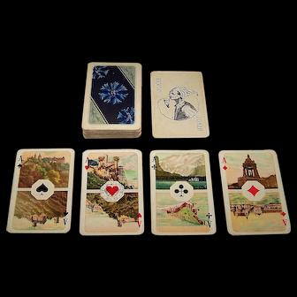 """VSSF """"Deutsche Trachten Karte"""" Playing Cards, Oskar Jacobi and Otto Pech Designs, c.1927"""