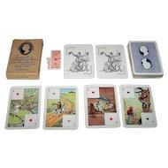 "Handa ""Hans Christian Andersen"" Playing Cards (""Coloured"" Deck), 150th Anniversary of Andersen's Birth, Vilhelm Pedersen Designs, c. 1955"