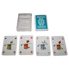 "Muller ""Scheffmacher"" Playing Cards, Fritz Bunzli Designs, c.1975"