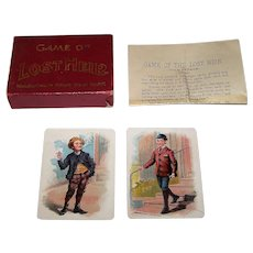 "McLoughlin Bros. ""Game of Lost Heir"" Card Game, c.1900-1920"
