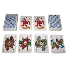 "Van Roessel, B.V. ""Aesculaap B.V."" Playing Cards, Inga Kramer-Haantjes Designs, c.1976"