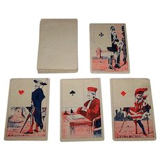 Lequart et Mignot Fortune Telling Deck, Early Lenormand Type, c.1860-1890