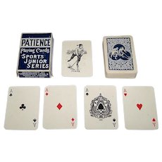 "Consolidated Litho & Mfg. Co. ""Sports Junior"" Patience Playing Cards, c.1915"