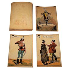 """Weltrenn Spiel"" (""World Race Game"") Card Game, c.1910"