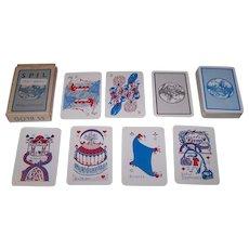 "Handa ""Midgardsormur Spil"" Playing Cards, Sigurlinni Petursson Publisher, Sigurlinni Petursson Designs, c.1958"