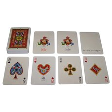 "Siaca ""Luca Crippa"" Playing Cards, Luca Crippa Designs, c.1977"