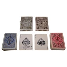 "Single Deck C. L. Wüst No. 223 ""Buffalo Poker Karten"" Playing Cards, c.1923-1929"