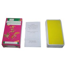 """AG Muller """"Cartes d'Harmonisation par les Fleurs et les Couleurs"""" Healing Cards, Ingrid Kraaz Conception and Design, c.1993"""