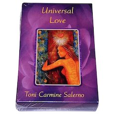 "AG Muller (Urania) ""Universal Love"" Oracle Cards, Toni Carmine Salerno Conception and Design"